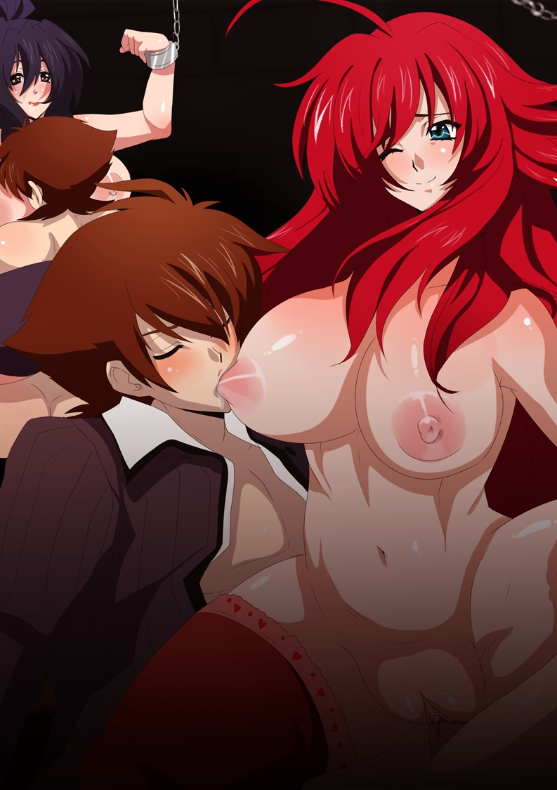 dxd highschool rias issei gif and S-cry-ed scheris