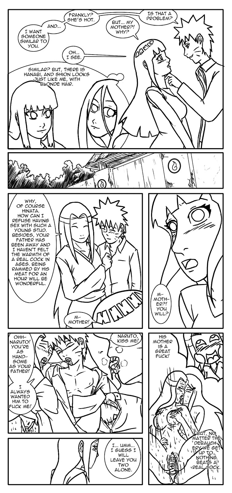 fanfiction hinata naruto academy and Triplets in beauty and the beast