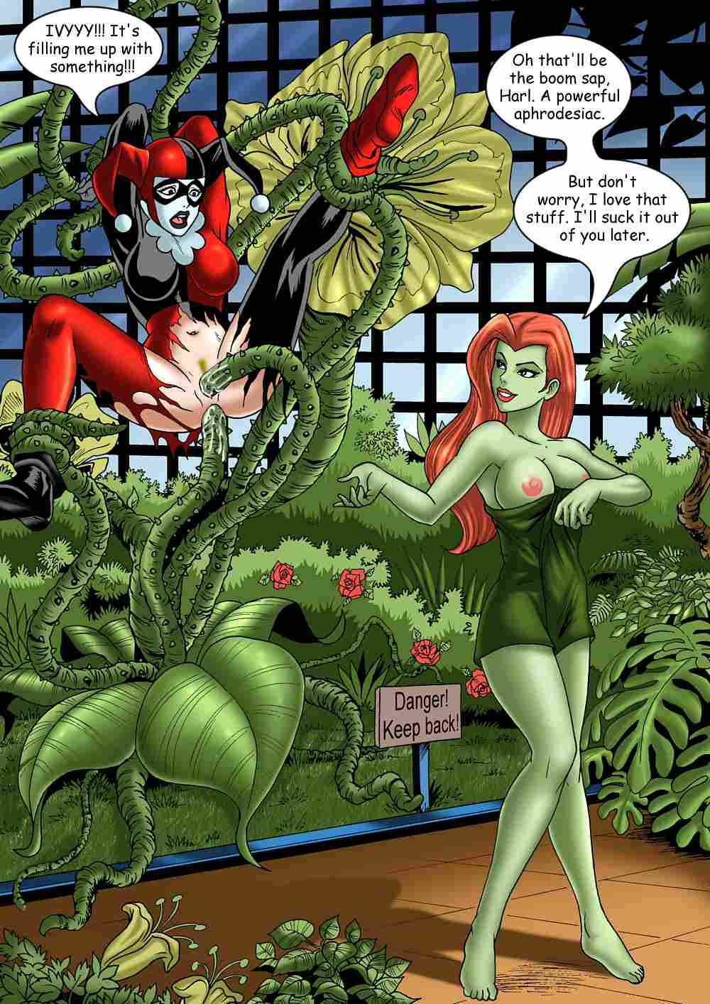 poison harley nude ivy quinn Is this a zombie