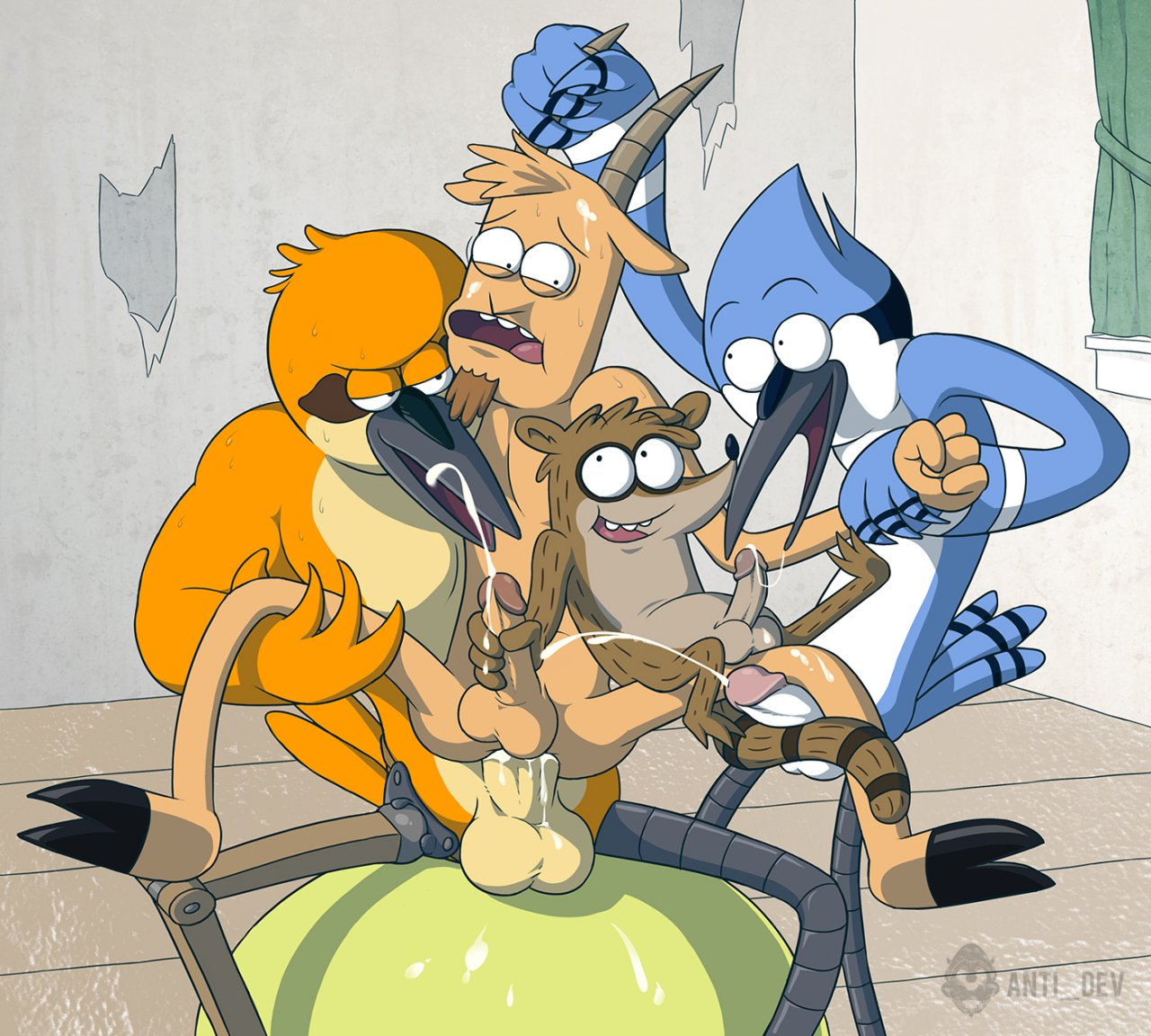 regular show mans mom muscle What is diego in ice age