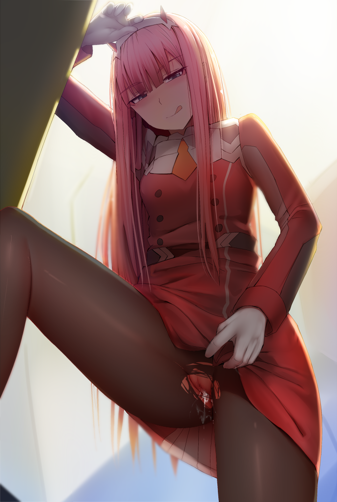 franxx the in hiro darling 02 and The amazing world of gumball blowjob
