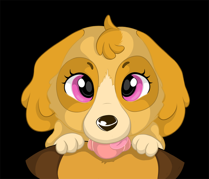 breed from is paw tracker patrol what Oppai gakuen marching band-bu!