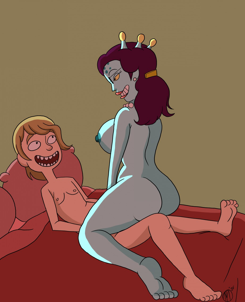 morty and naked summer rick Zone tan's leaked sex tape