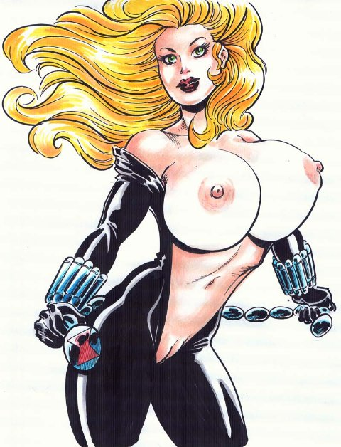 avengers nude the widow black Number 18 dragon ball super