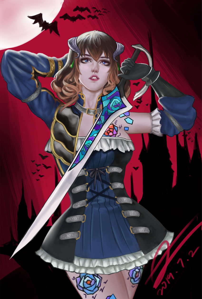 bloodstained of the night doppelganger ritual Street fighter 5 laura porn