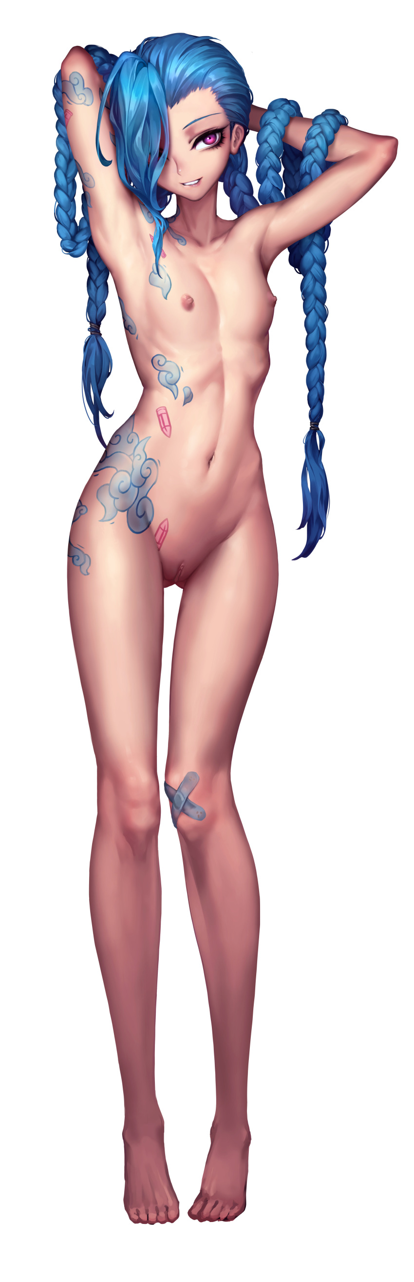 league jinx naked of legends Amazing world of gumball jamie