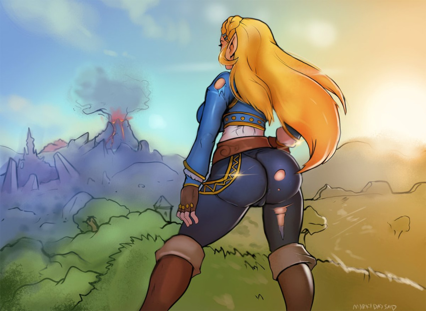 the breath of all wild clothing Johnny bravo panty and stocking