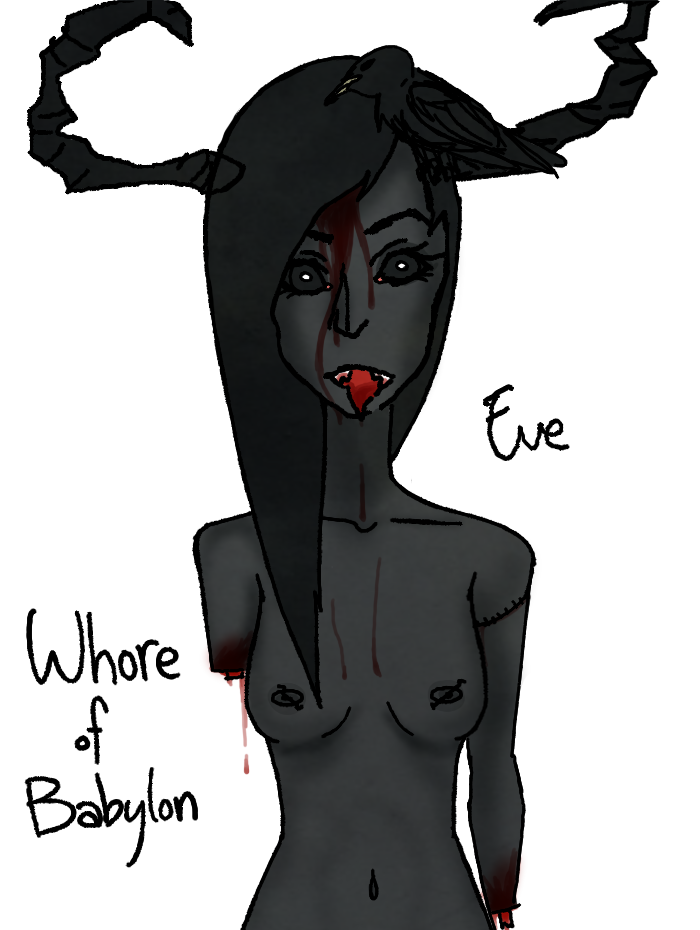 babylon whore of isaac binding of A pup named scooby doo porn