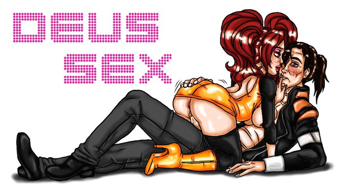 divided deus ex nude mankind Angels with scaly wings sebastian