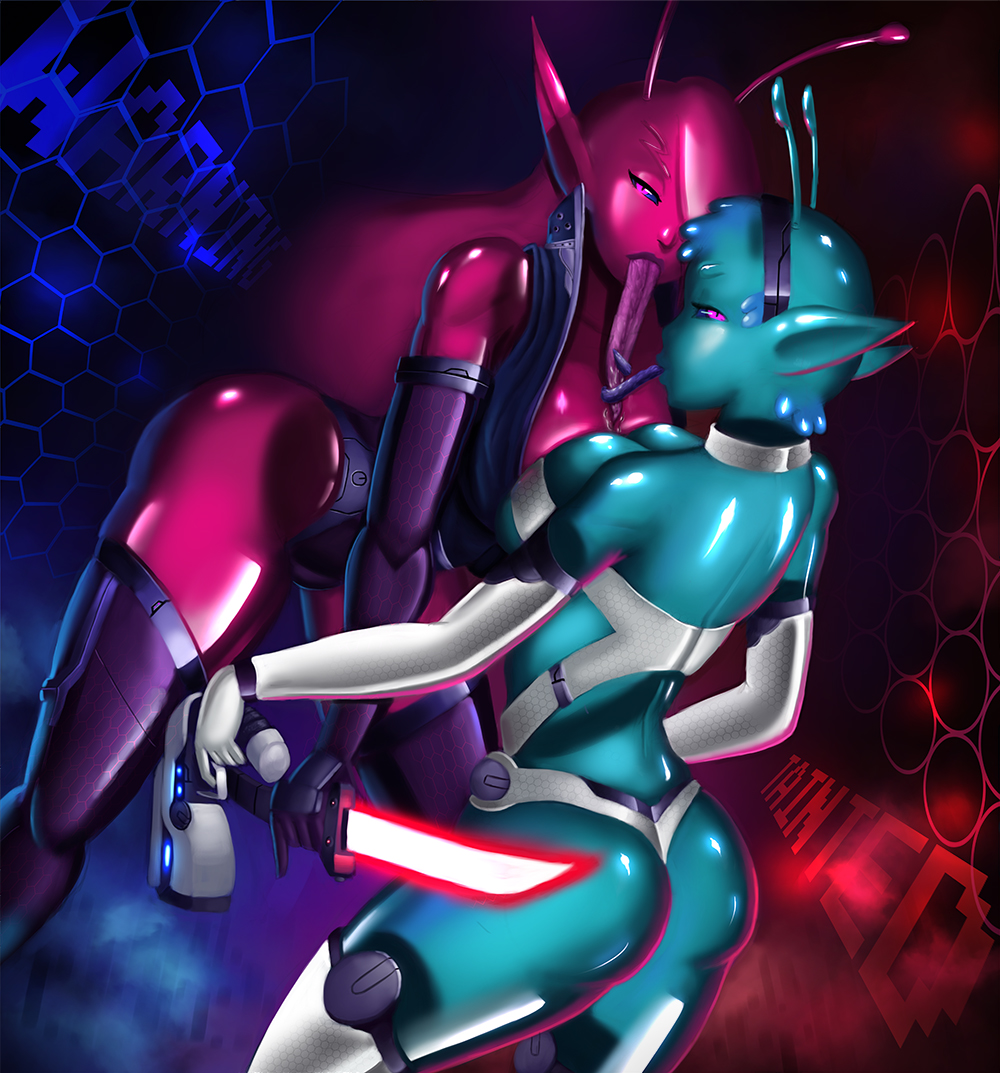 in tainted shizuya space trials Queen of the reef