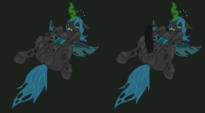 queen chrysalis pony from my little Hee ho hey that's not okay