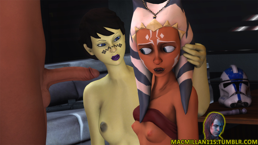 ahsoka offee barriss tano kiss and Dennis the menace perils of puberty